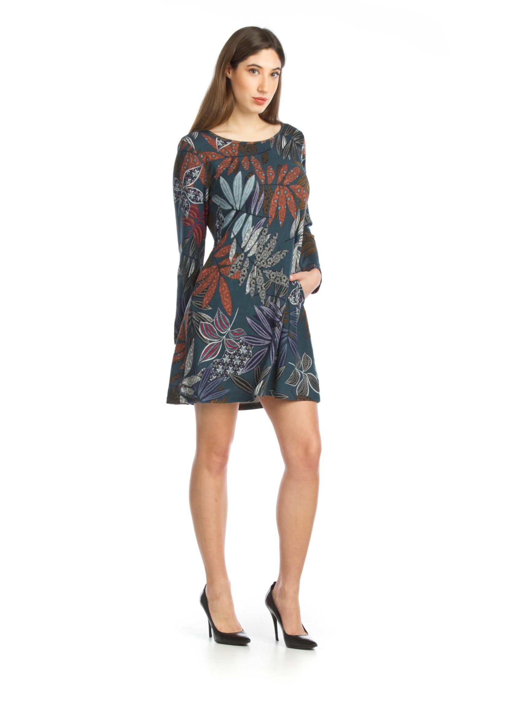 Papillon  Floral sweater dress