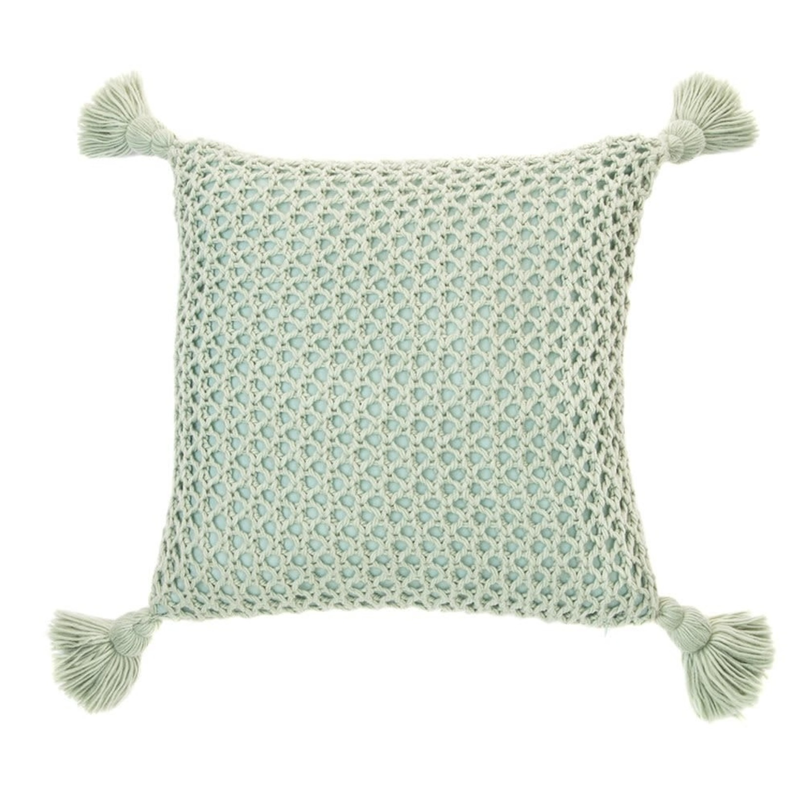 Shiva Sage Knitted Cushion