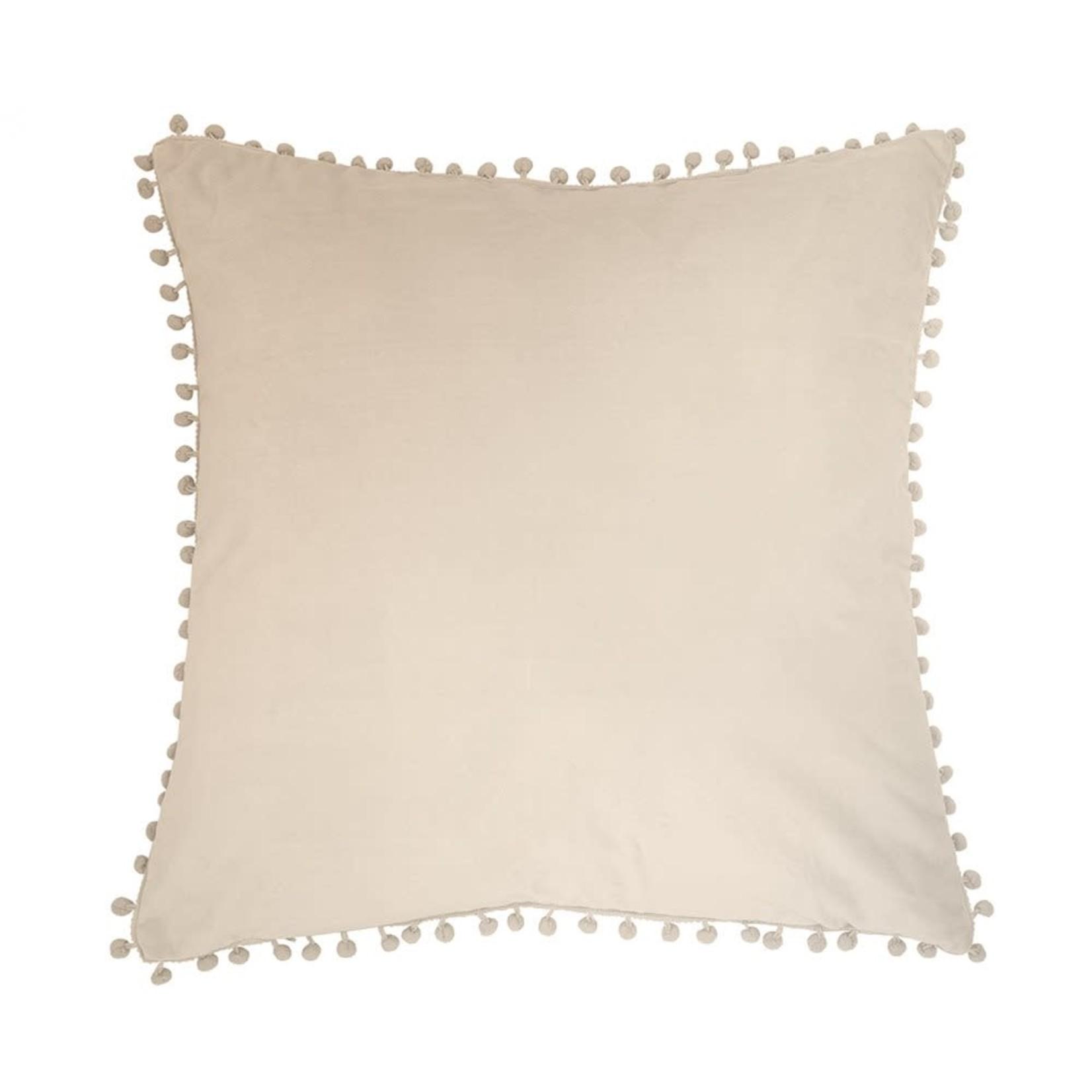 Velvet Cream Cushion