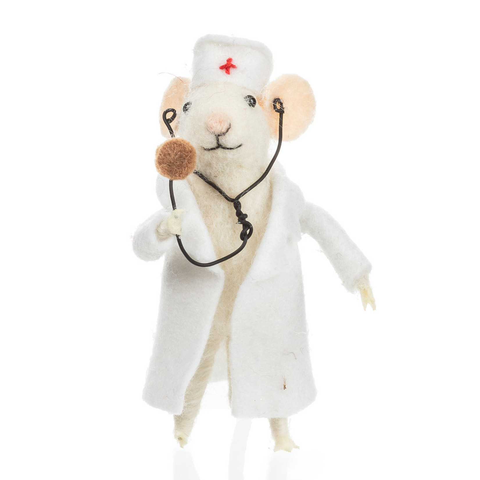 Doctor Mouse in Lab Coat