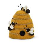 Felt Beehive w/Bees