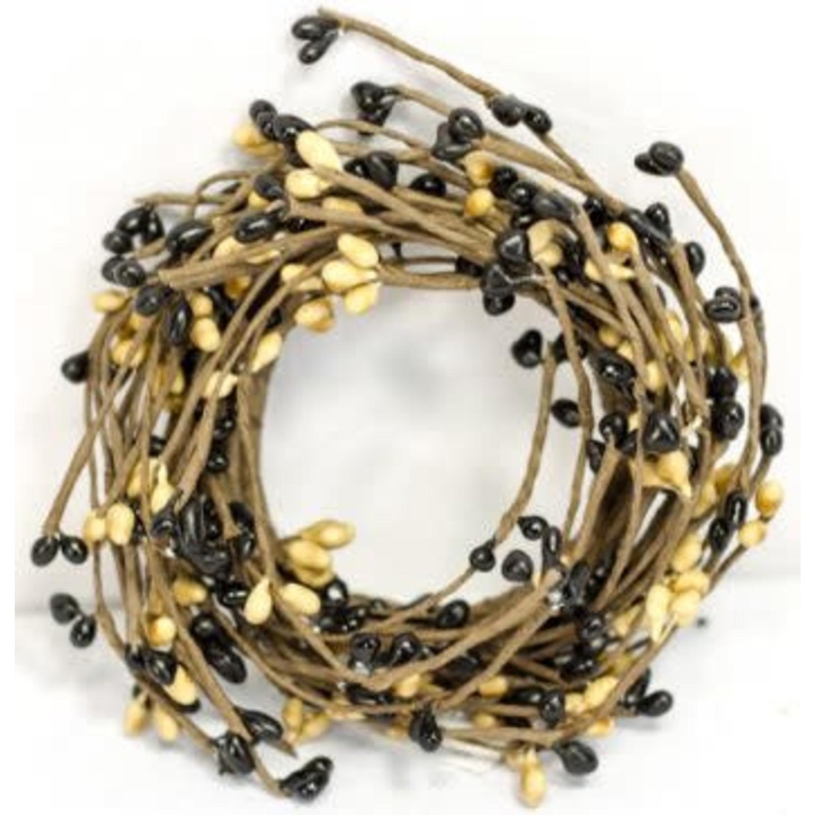 Black/Tan Candle Ring