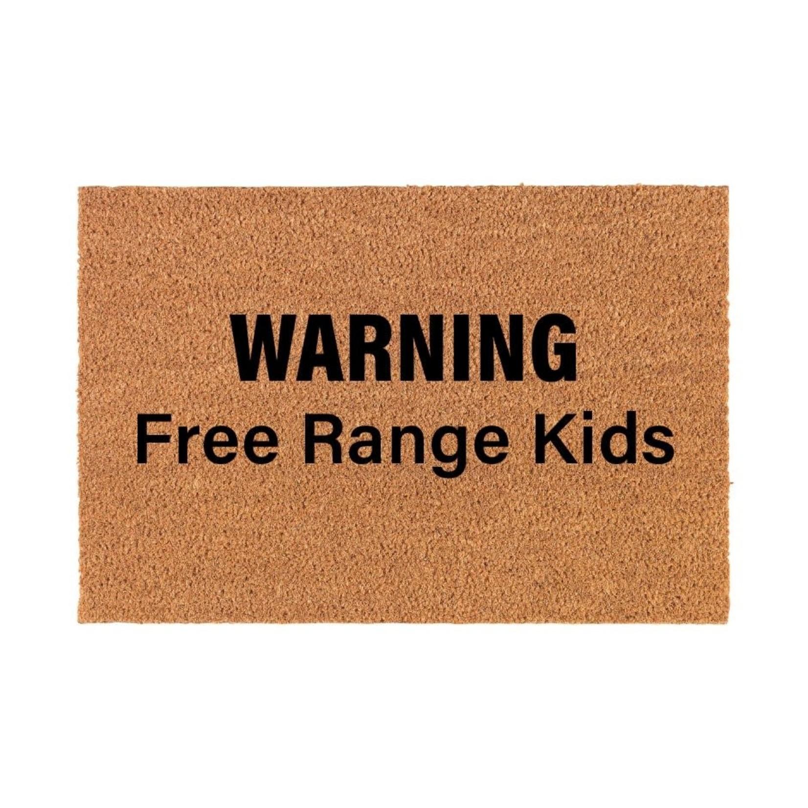 Free Range Kids Doormat