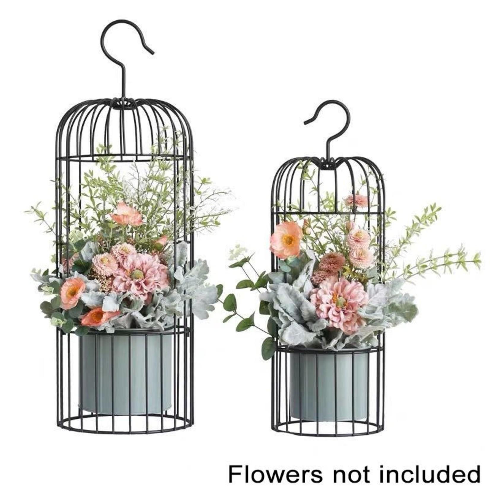 Hanging Bird Cage Planters