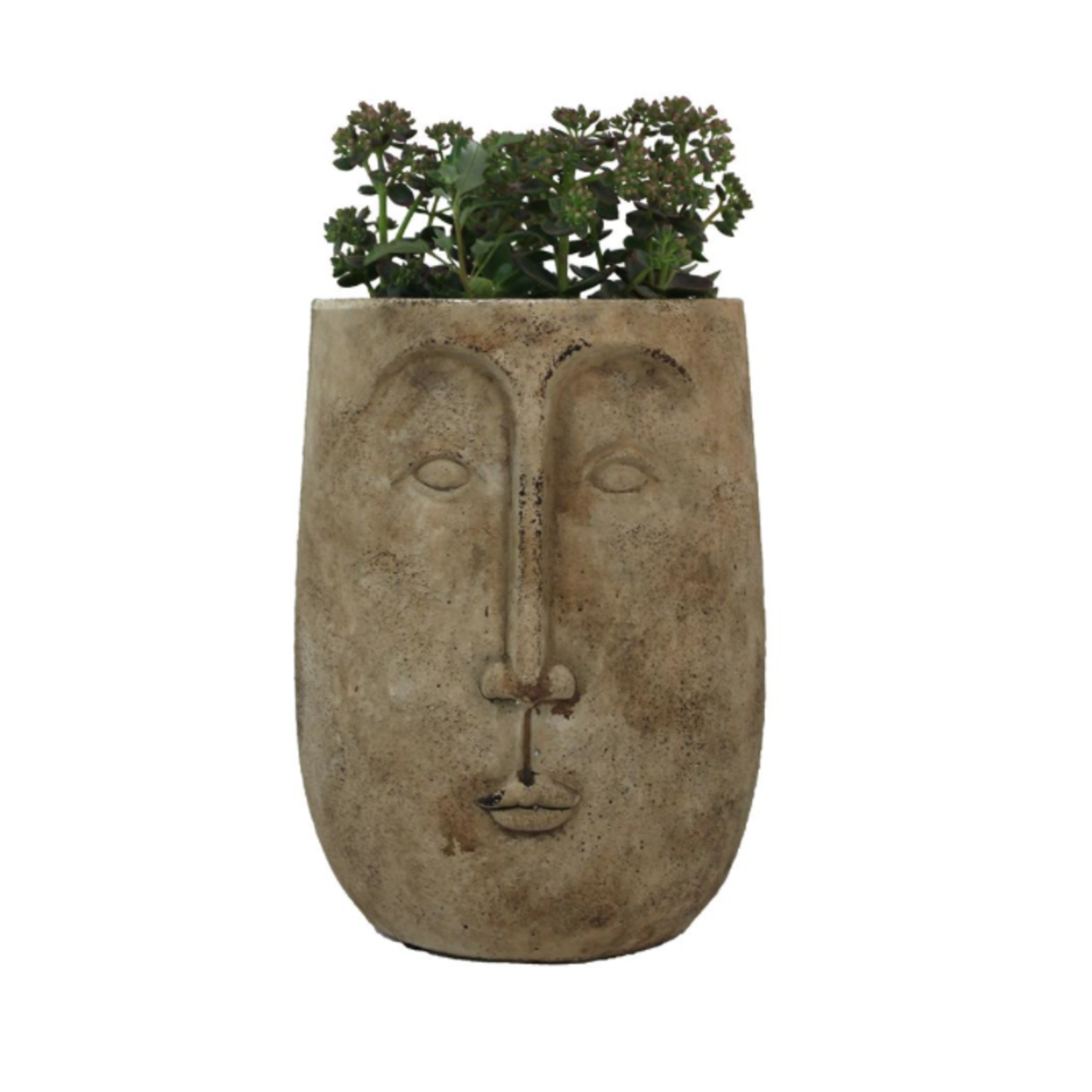 Long Face Planter Pot