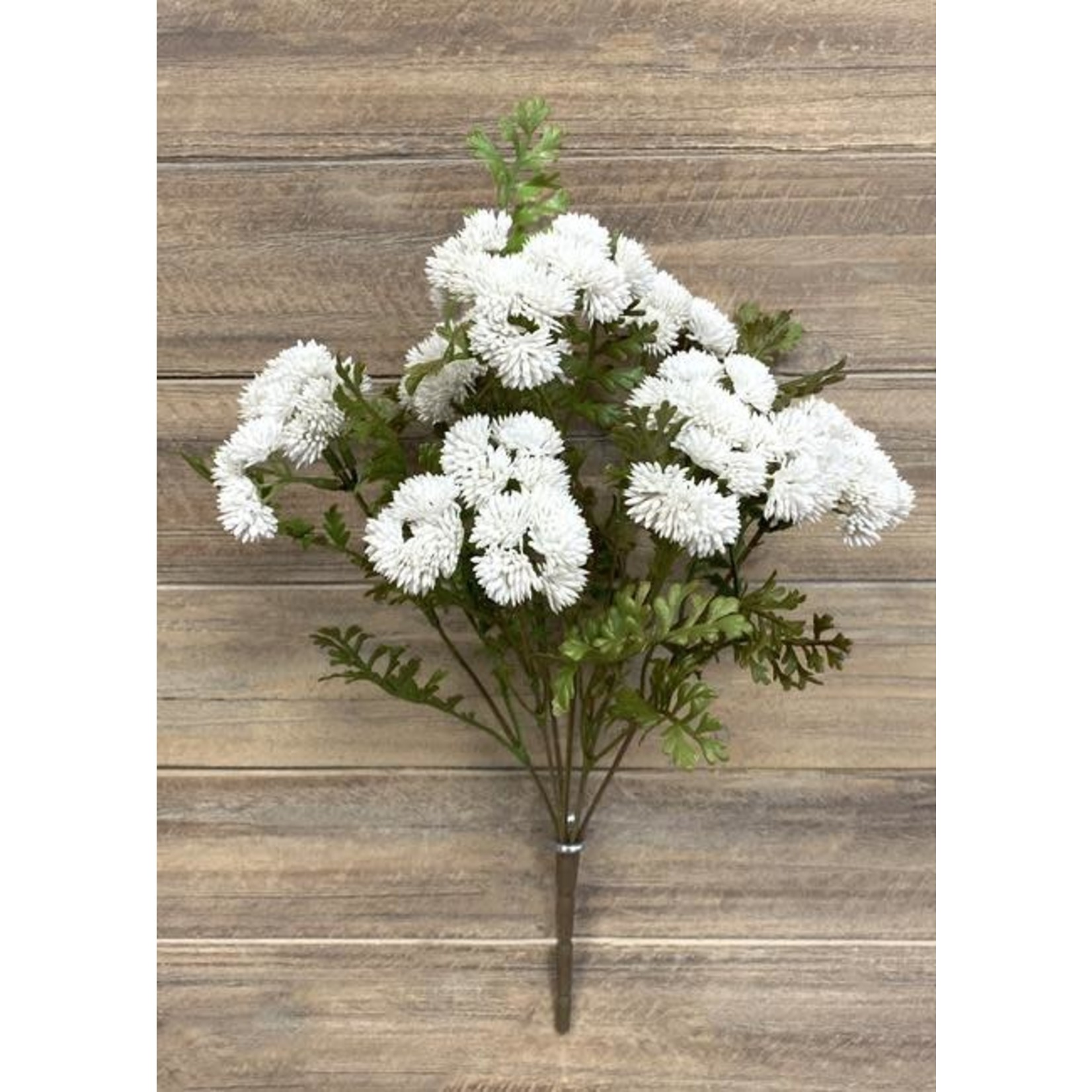 Real Touch Sedum Cluster - White