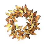 Paper Monarch Wreath - Large