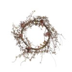 Dried Look Lily Wreath