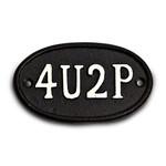4U2P Sign - Black