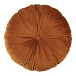 Mandarin Cognac Round Cushion