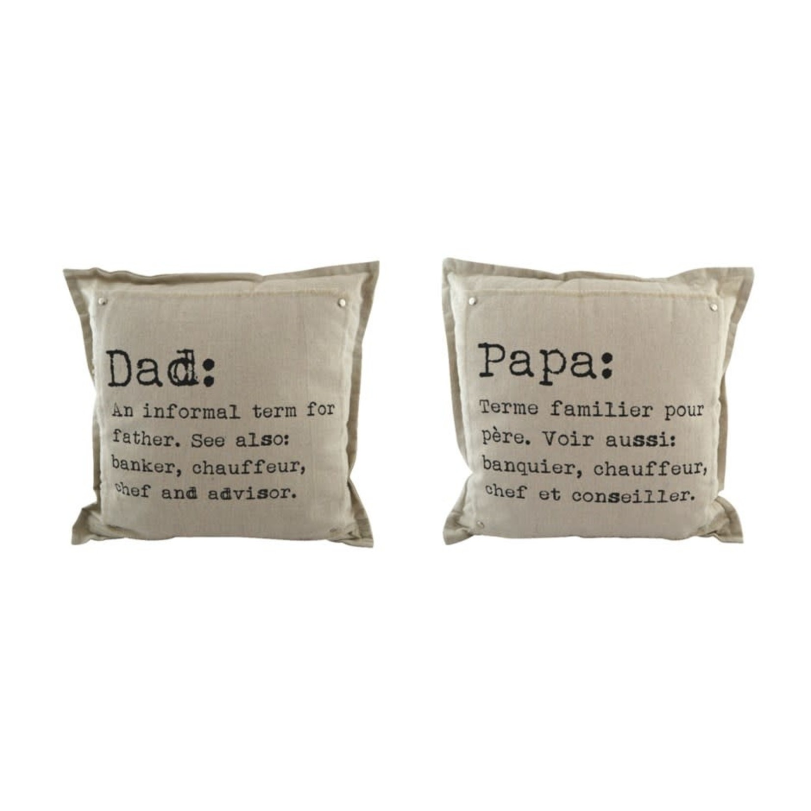Dad/Papa Cushion