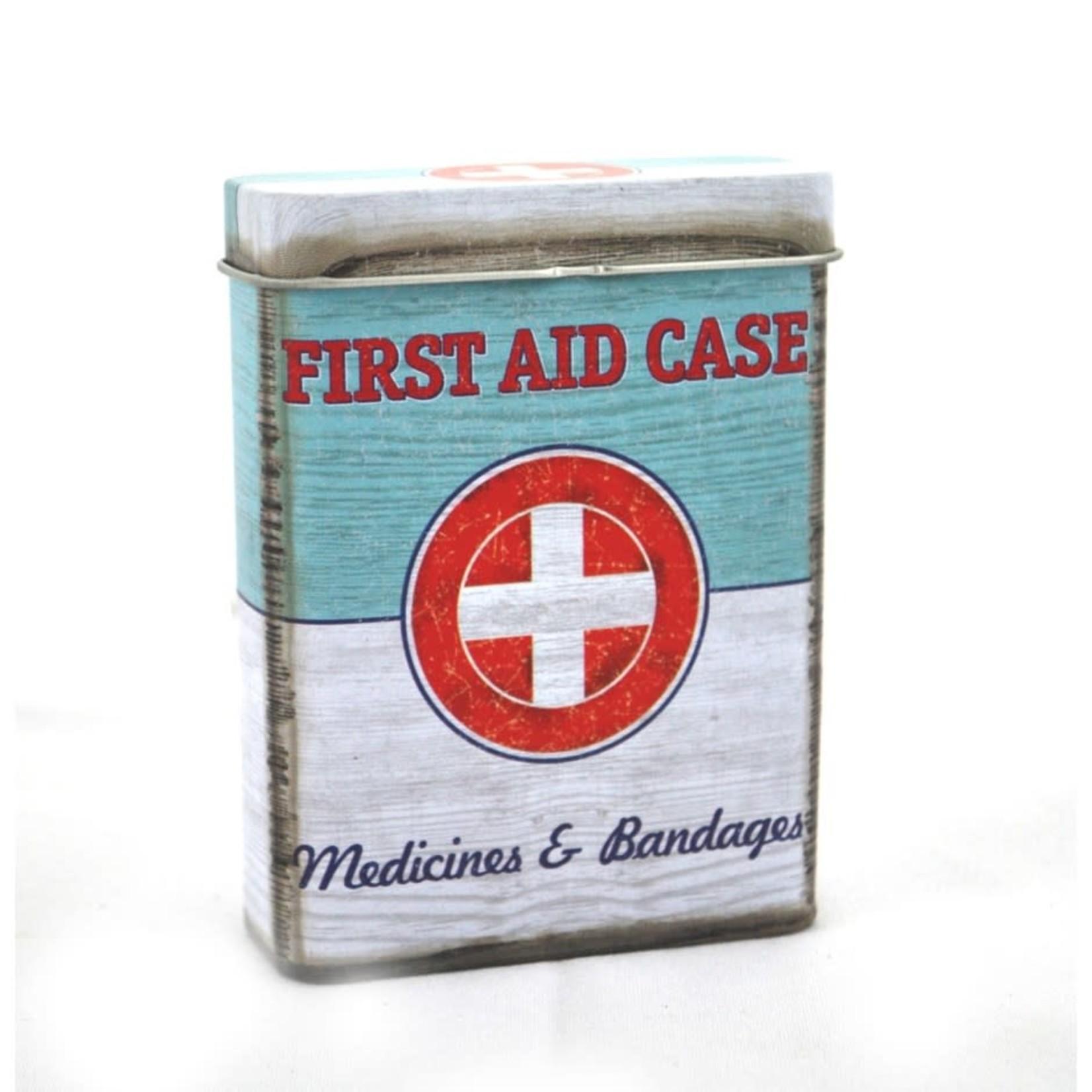 Tin Box First Aid