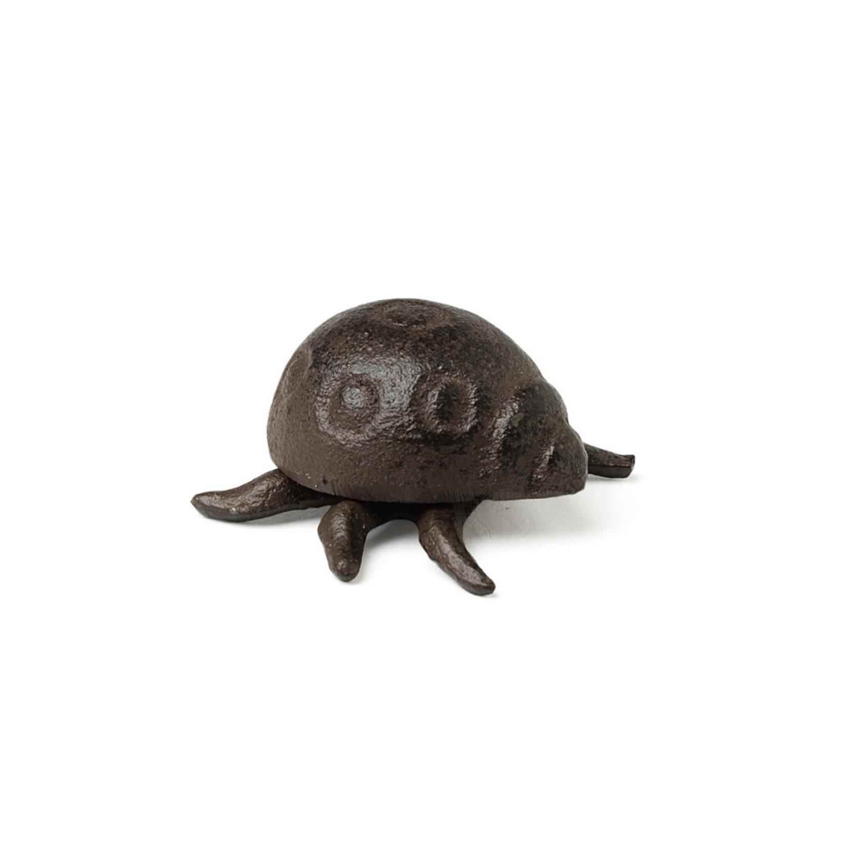 Mini Ladybug Figurine- Dark Brown