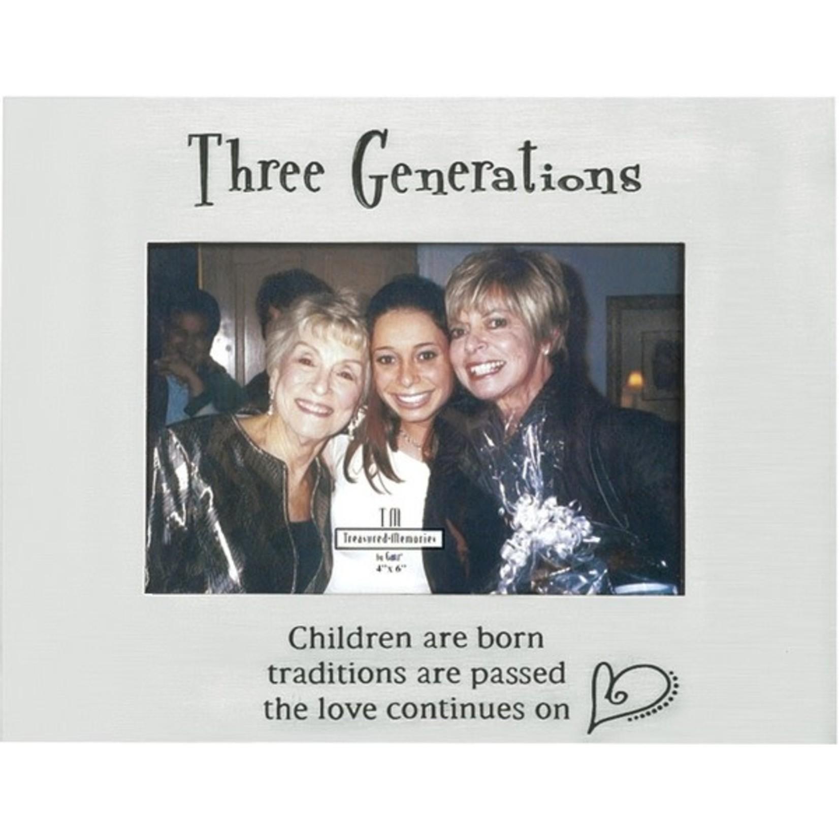 """Ganz - Three Generations Frame - 9 X 7""""H"""