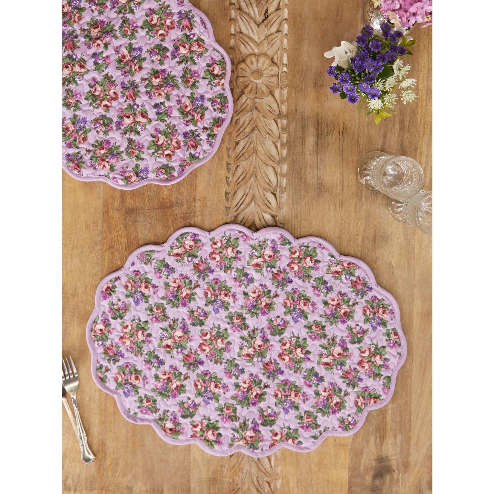 Elizabeth's Garden Placemats - Lavender
