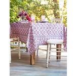 April Cornell Elizabeth's Garden Tablecloth - Lavender - Rectangle