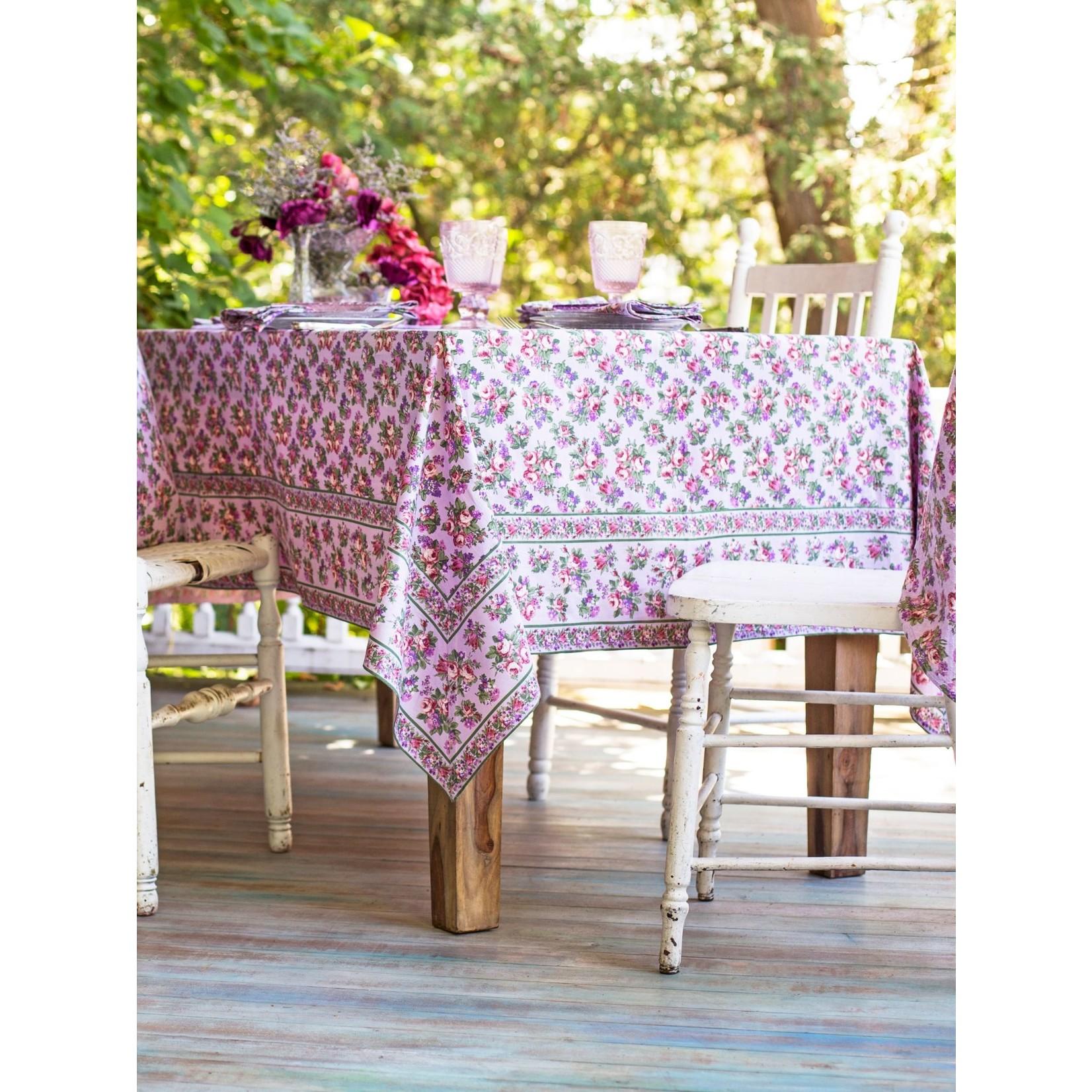 April Cornell Elizabeth's Garden Tablecloth - Lavender