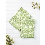 Madison Flower Tea Towel - Green