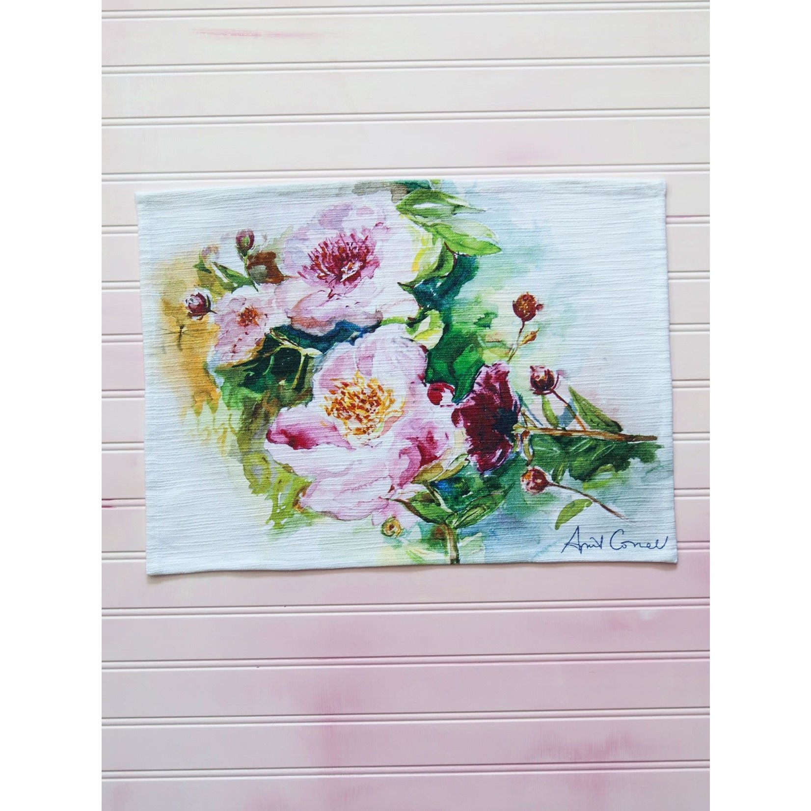 April Cornell Peony Placemats