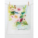 April Cornell Peony Tea Towel