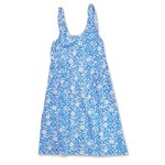 Madison Farmhouse Flower Apron - Blue