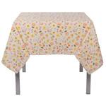 """Cottage Floral Tablecloth - 60 X 120""""L"""
