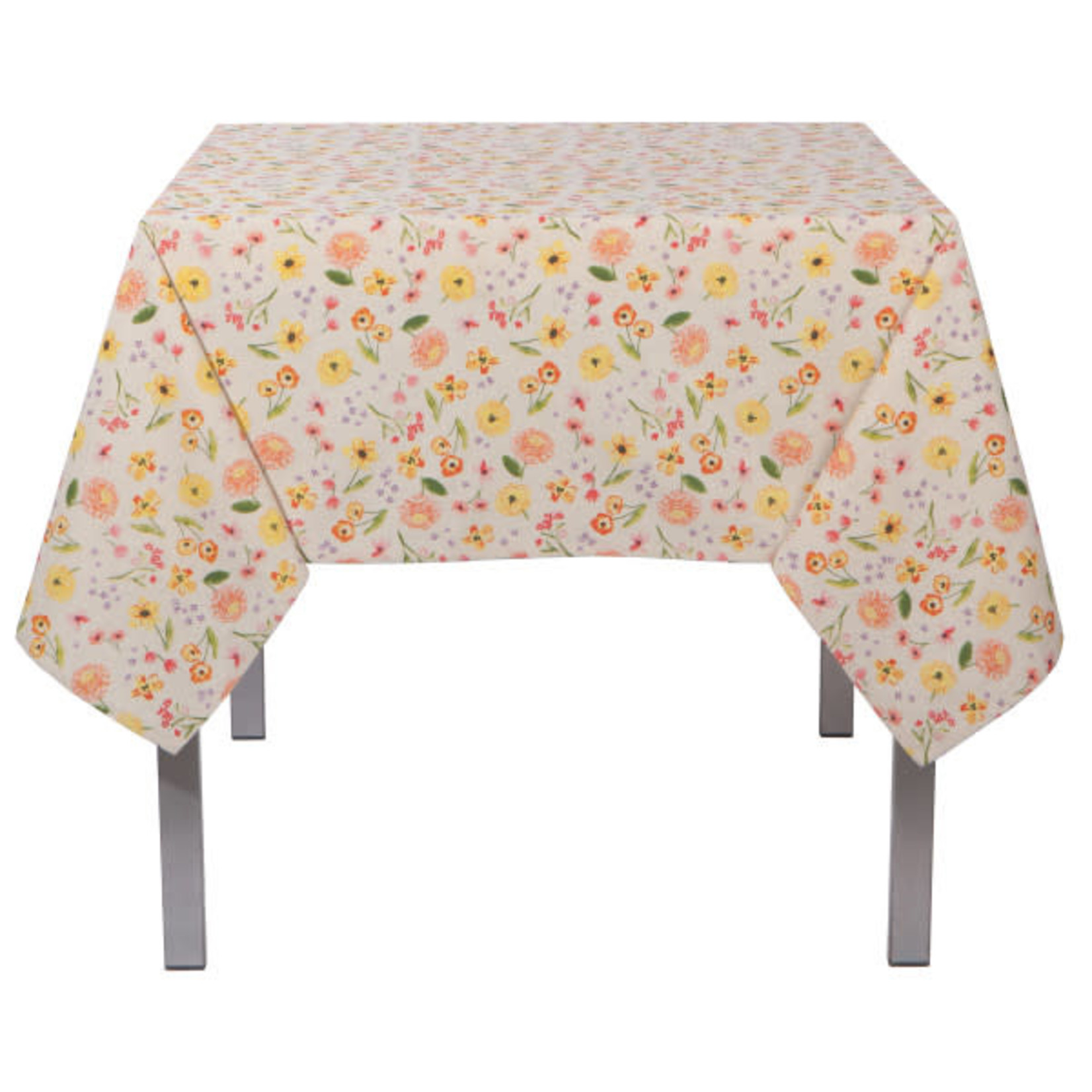 "Cottage Floral Tablecloth - 60 X 120""L"