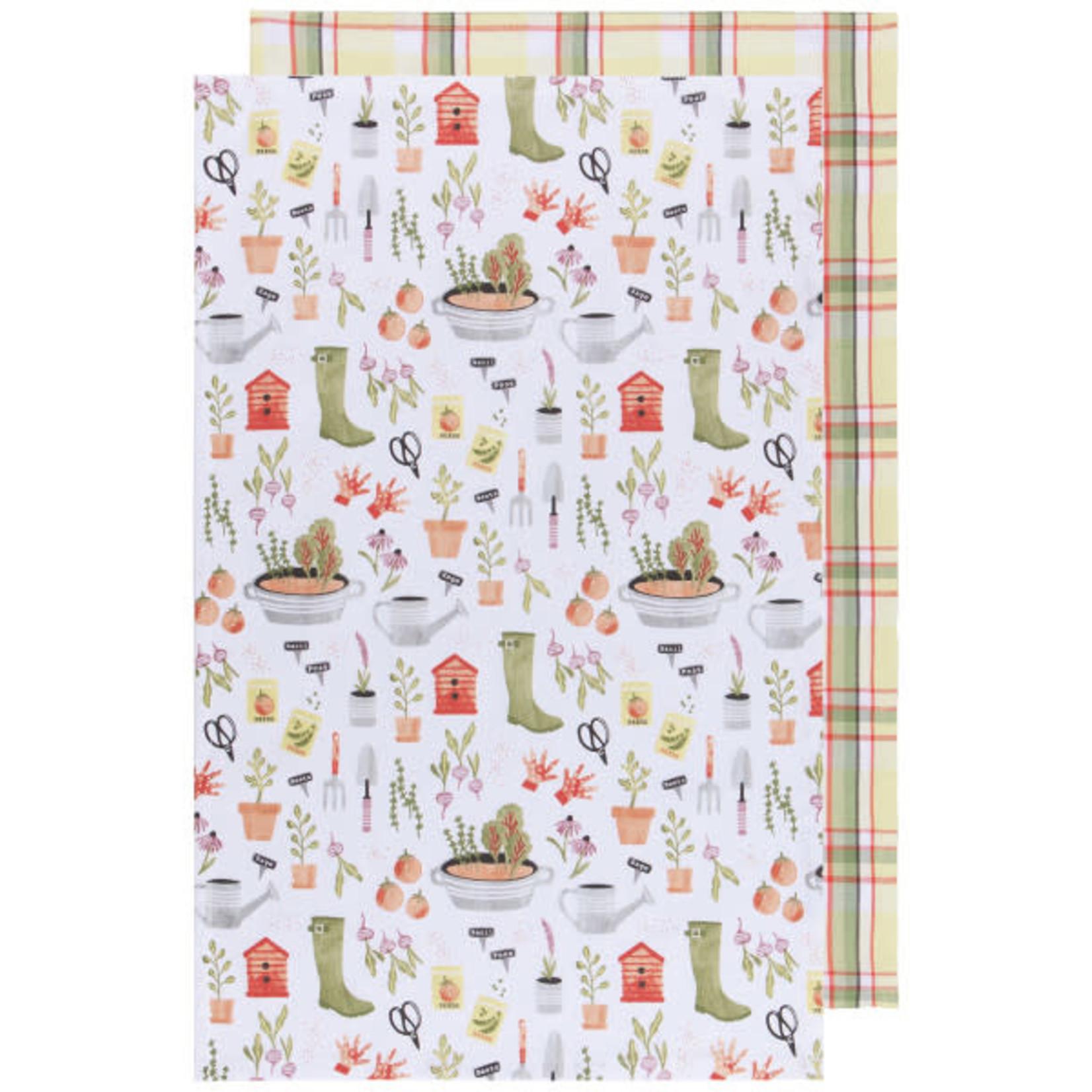 Garden Tea Towel- Set of 2