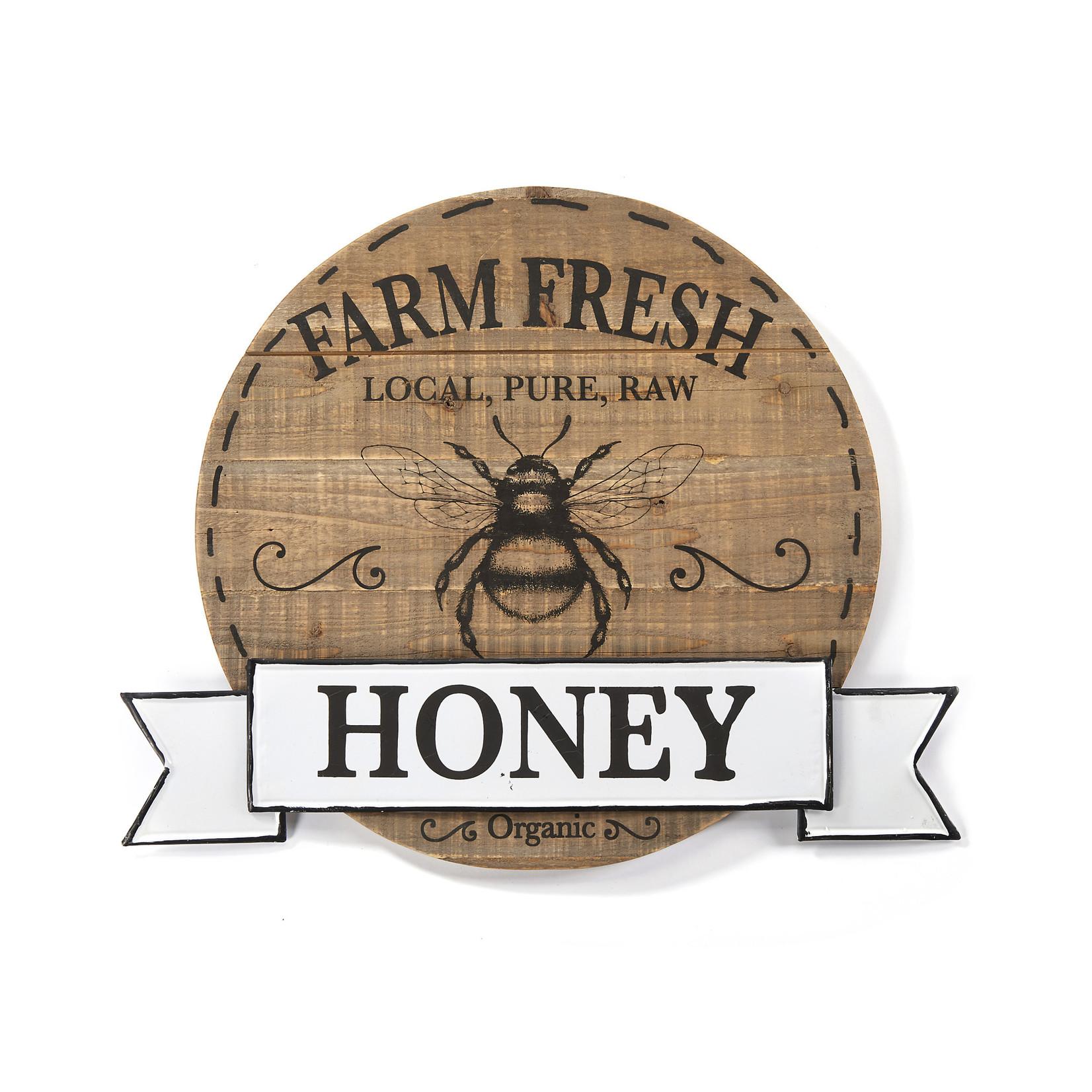 Farm Fresh Bee Plaque