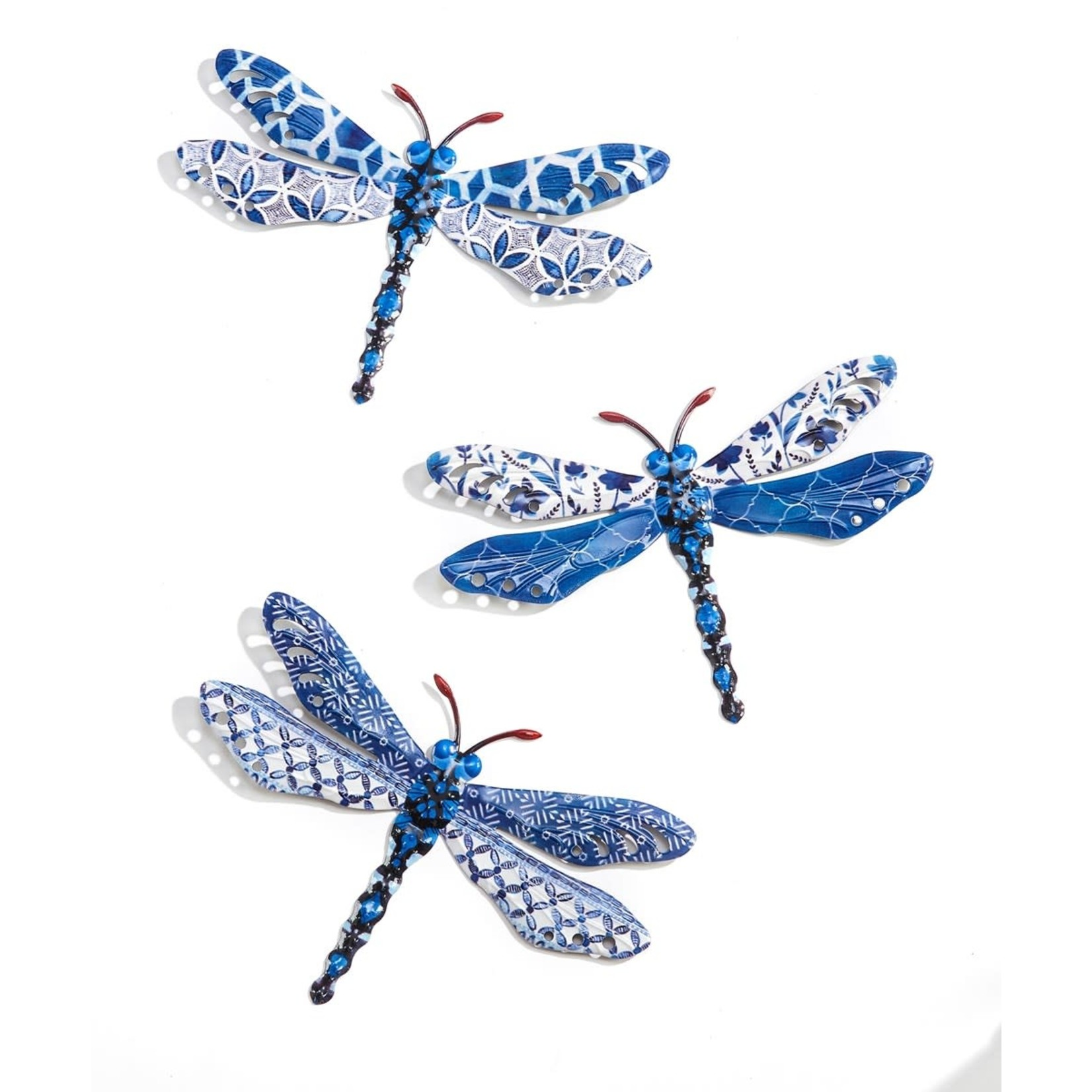 Metal Dragonfly Wall Decor