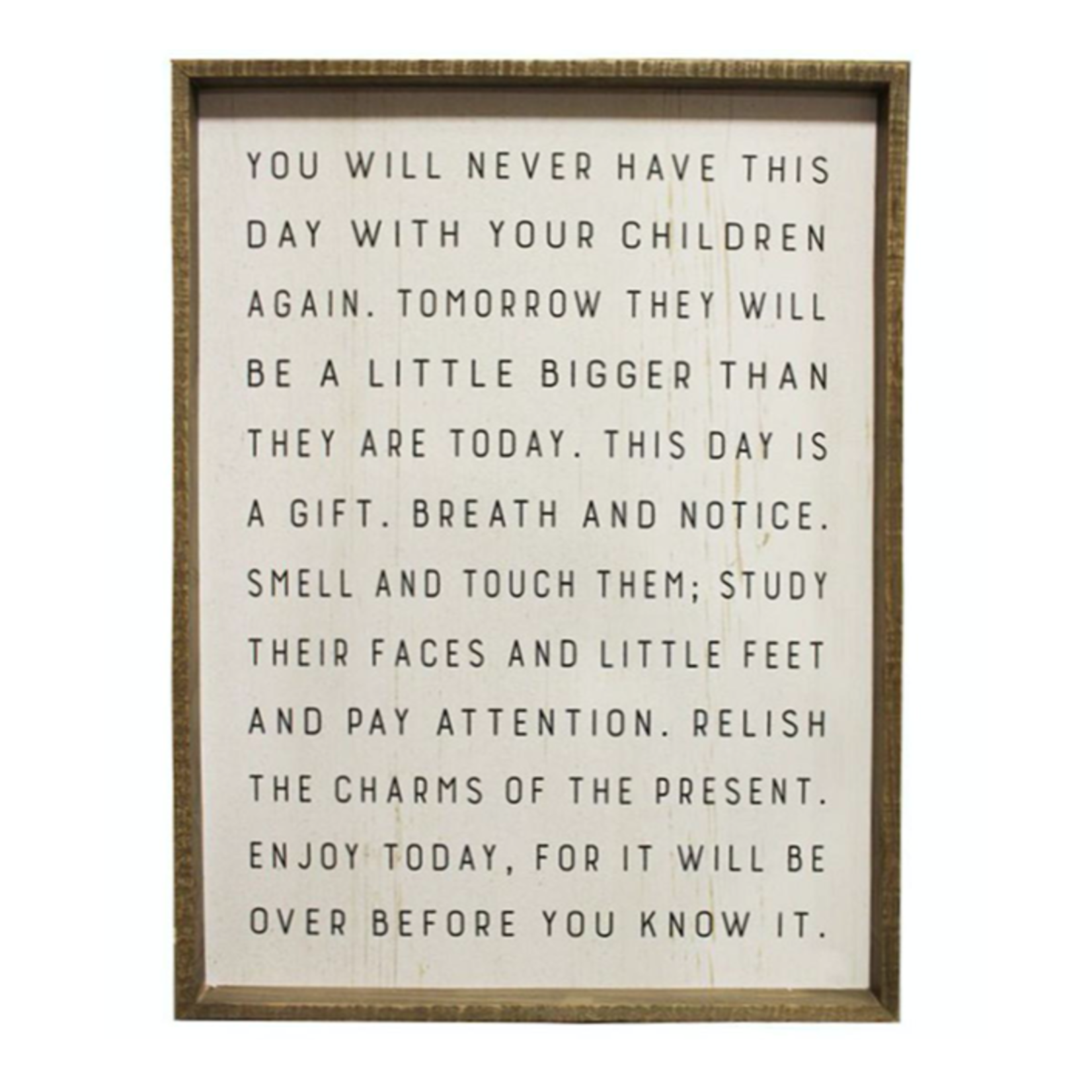 Today Is A Gift - Wall Sign