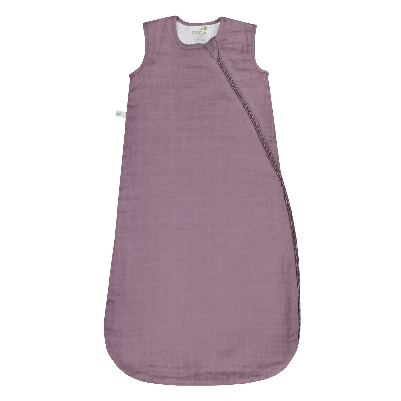 Cotton Muslin Sleep Bag - Plum - 0.7 TOG