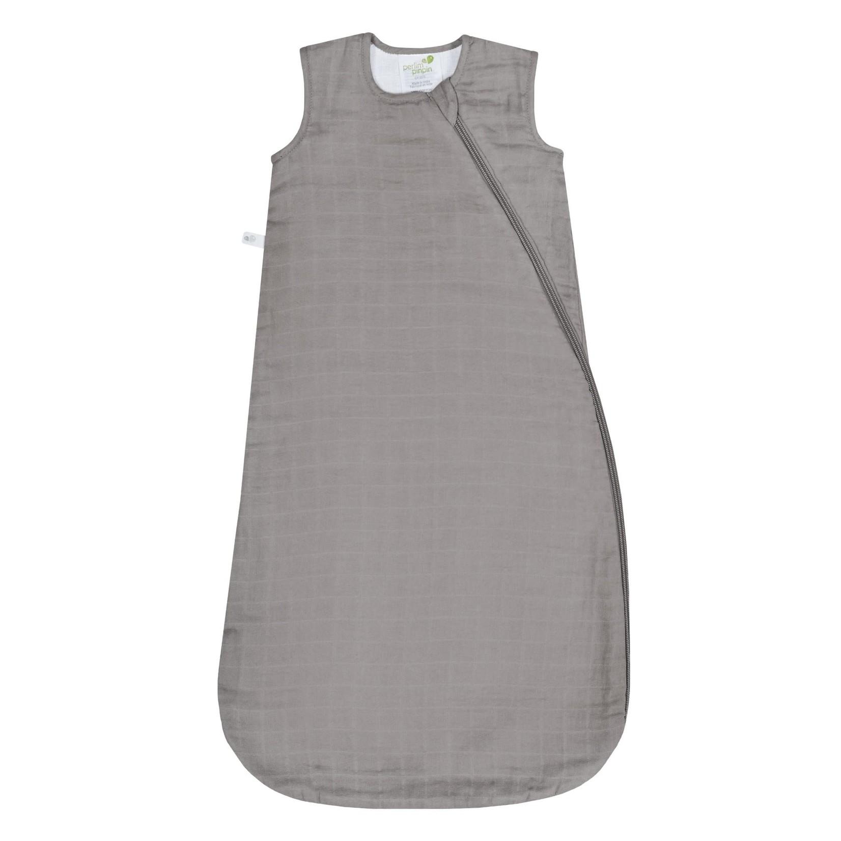 Cotton Muslin Sleep Bag - Taupe - 0.7 TOG