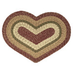 Braided Heart Rug