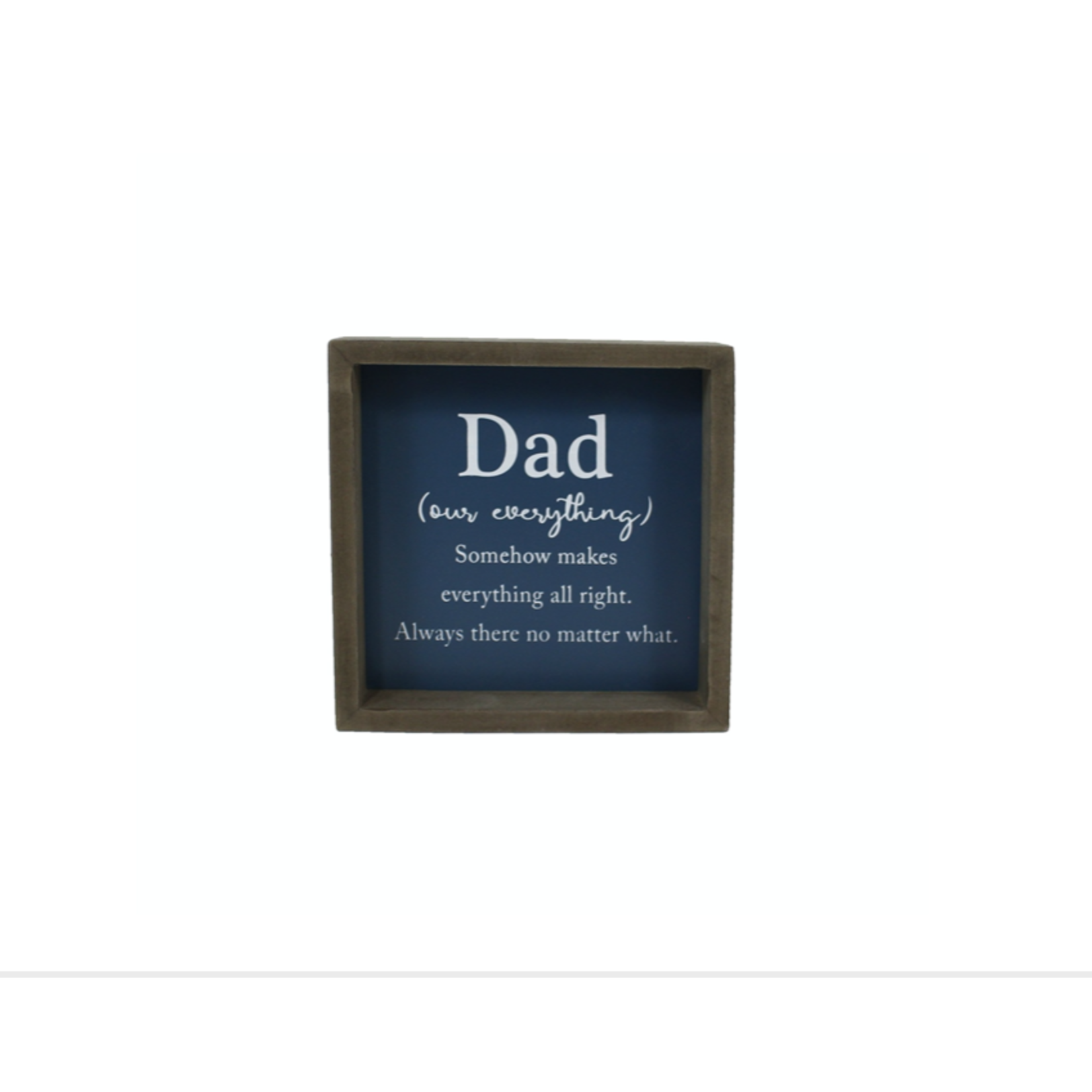 Dad Our Everything Sign
