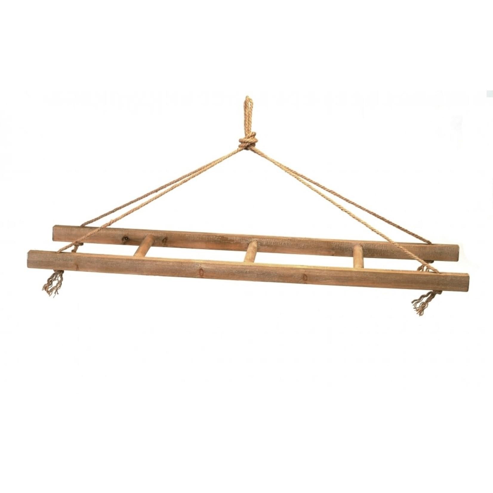 Hanging Wood Ladder