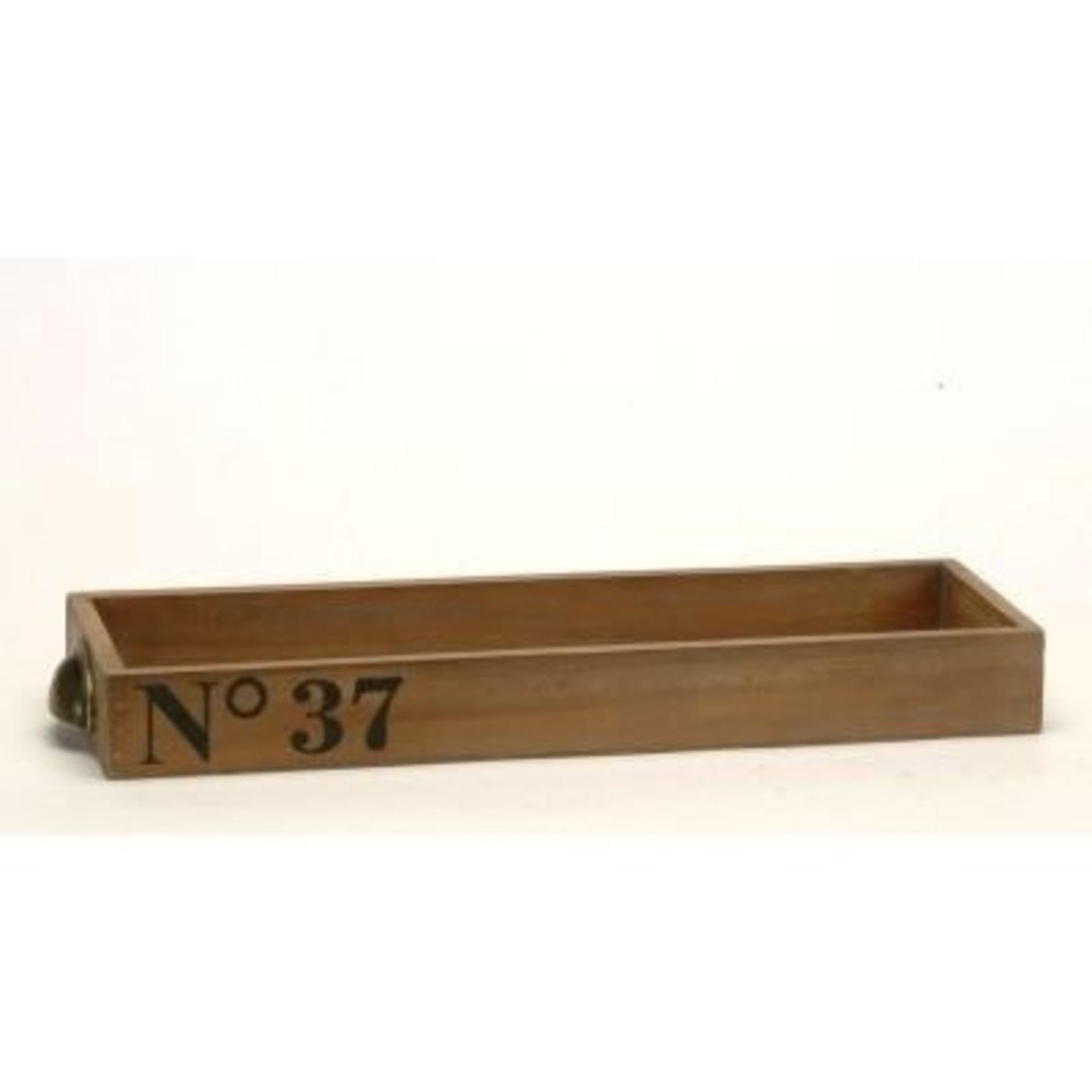 Wood Drawer - Brown