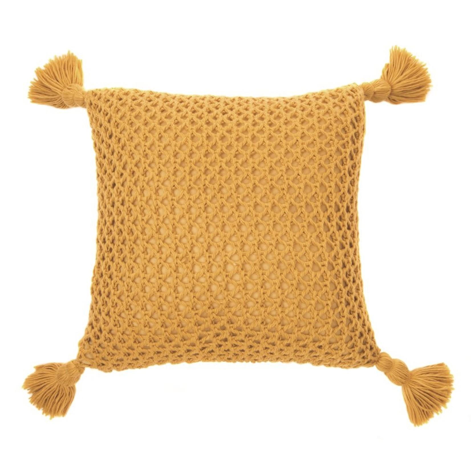 Shiva Mustard Cushion