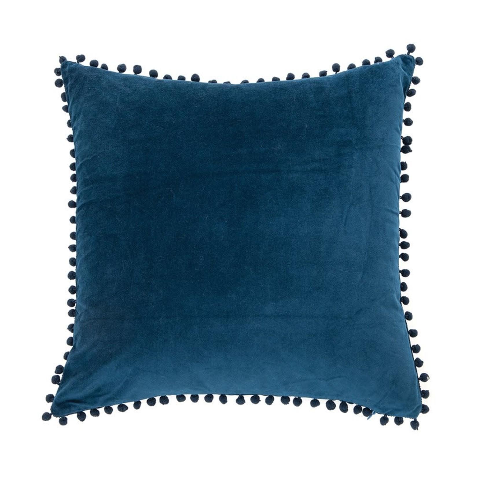 Velvet Blue Cushion