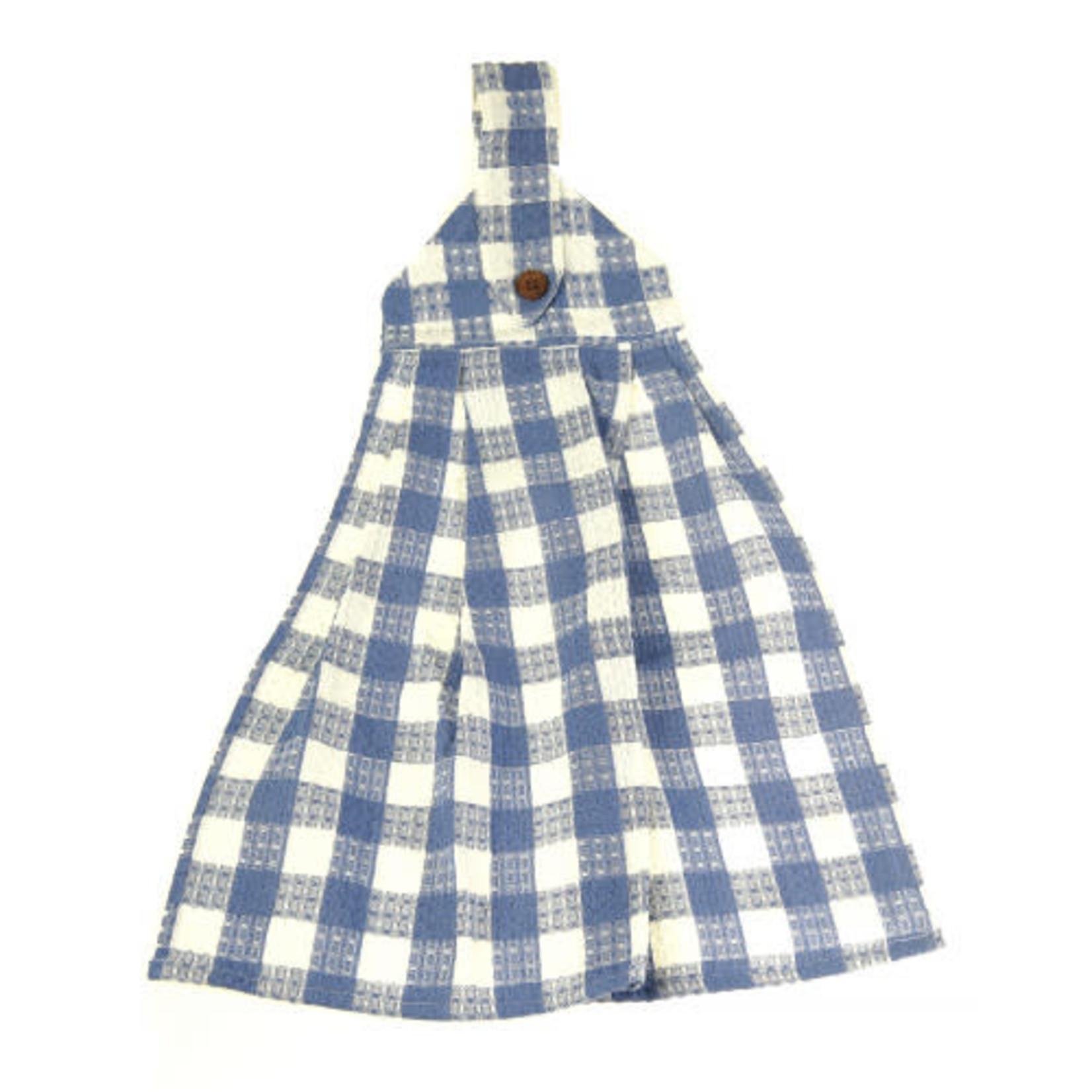 Hanging Tie Button Towel