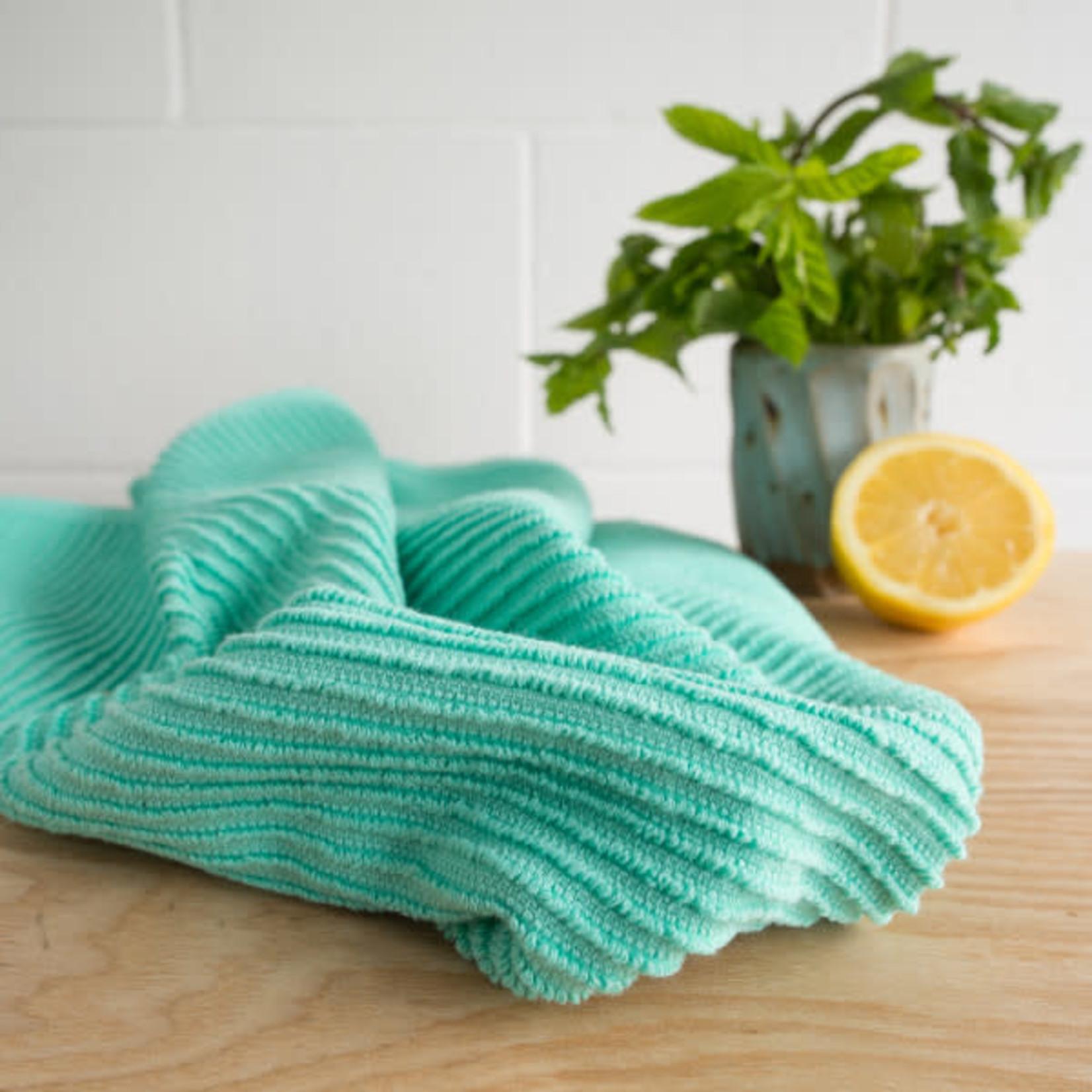 Ripple Lucite Green Tea Towel