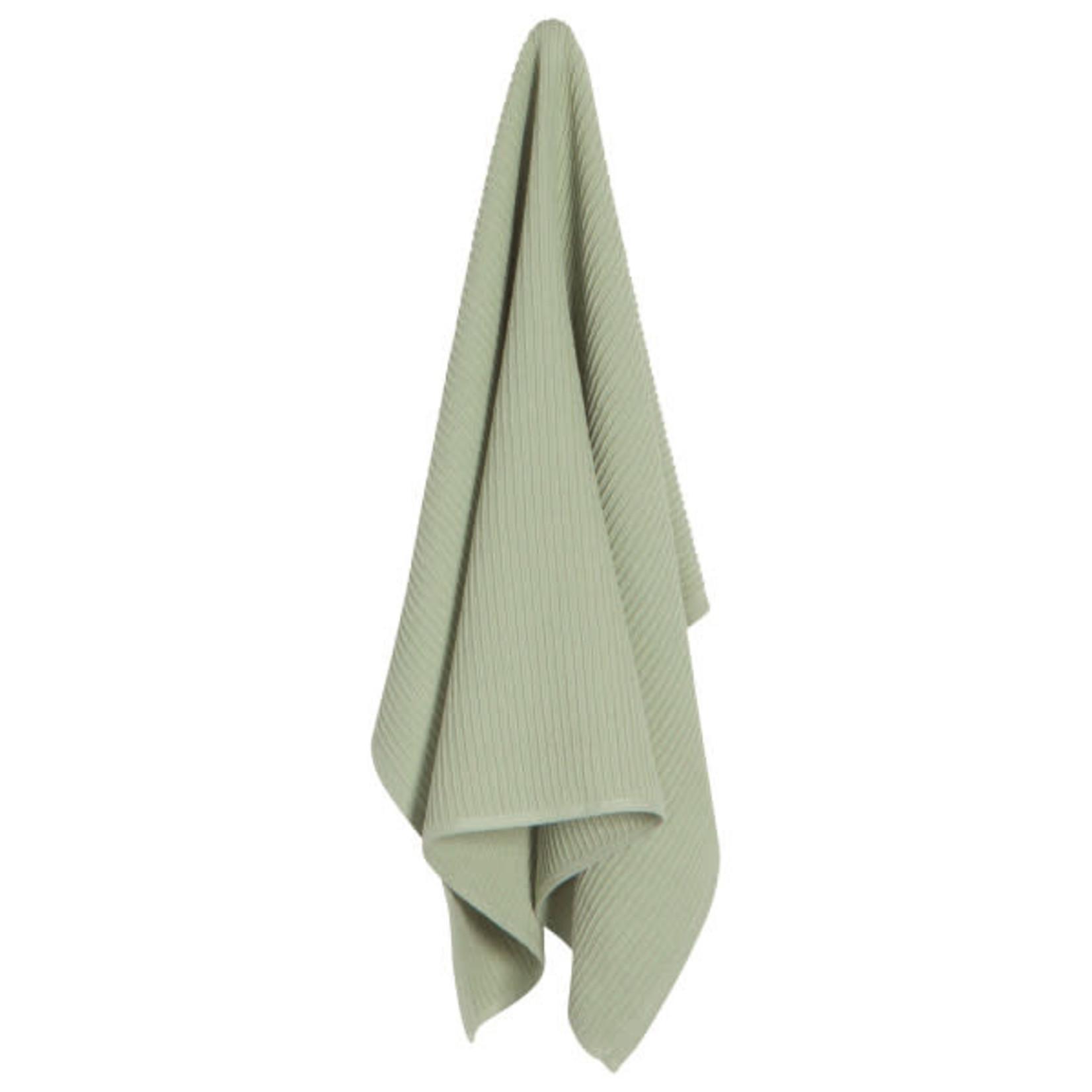 Ripple Sage Tea Towel
