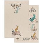 Wild Riders Tea Towels - Set of 2