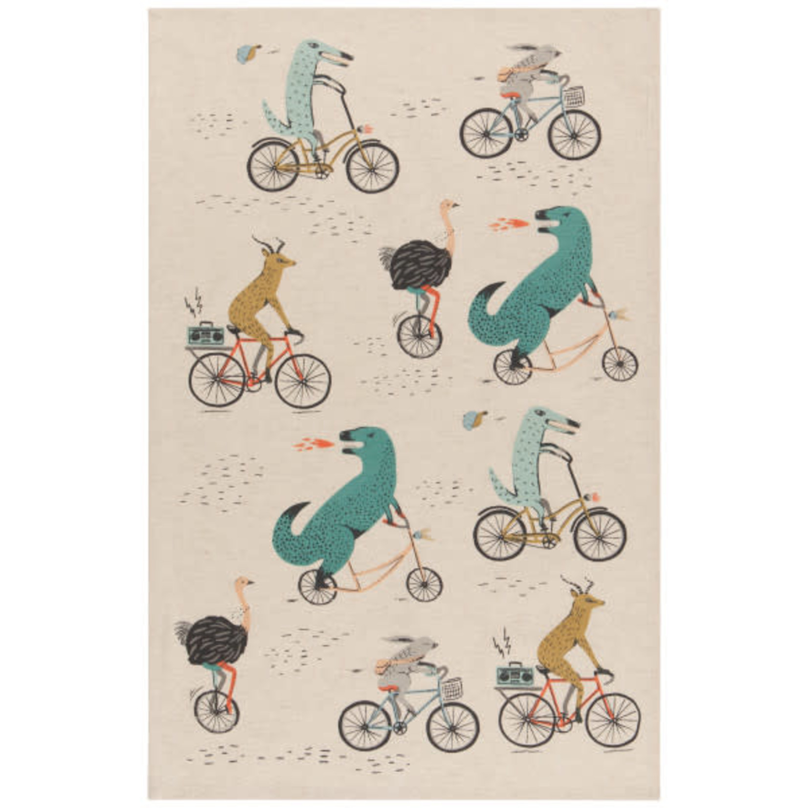 Wild Riders Tea Towels -Set of 2