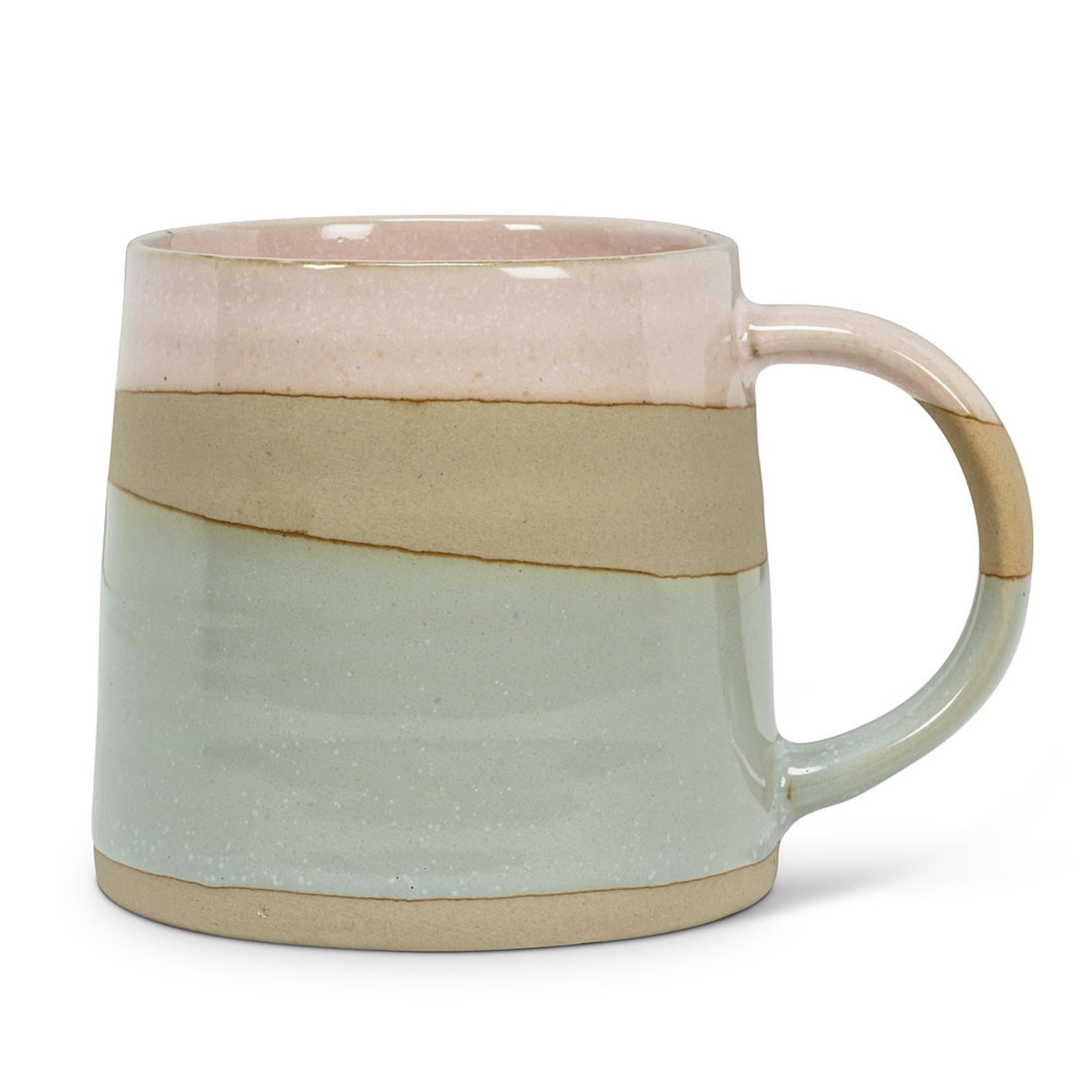 Pnk/Blu Rustic Style Mug (14oz.)