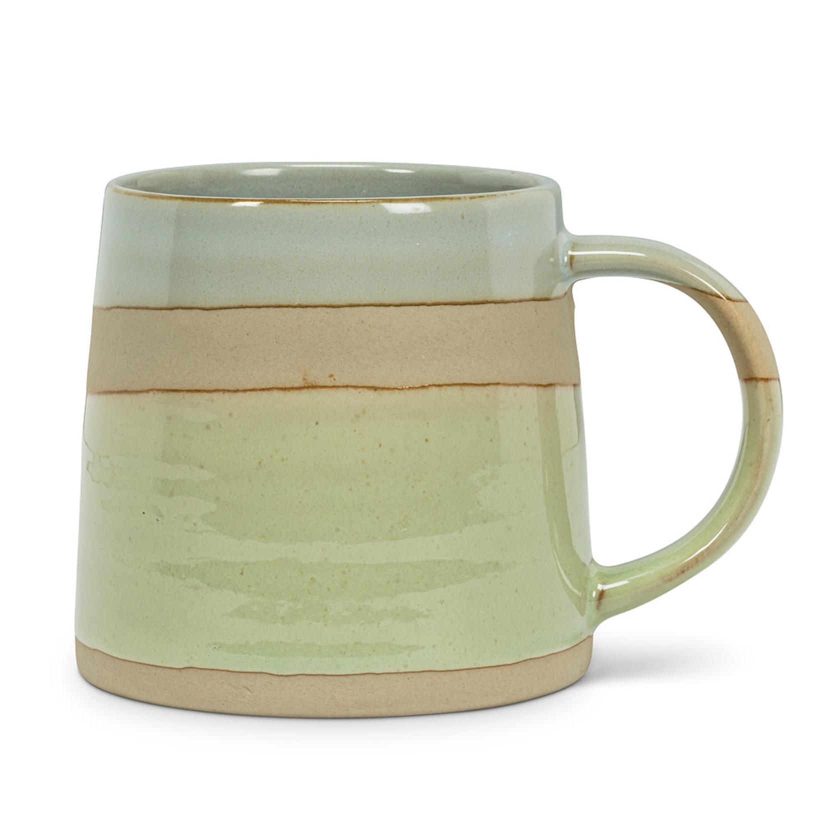 Blu/Grn Rustic Style Mug (14oz.)
