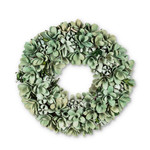 Green Succulent Wreath