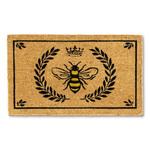 Bee In Crest Doormat