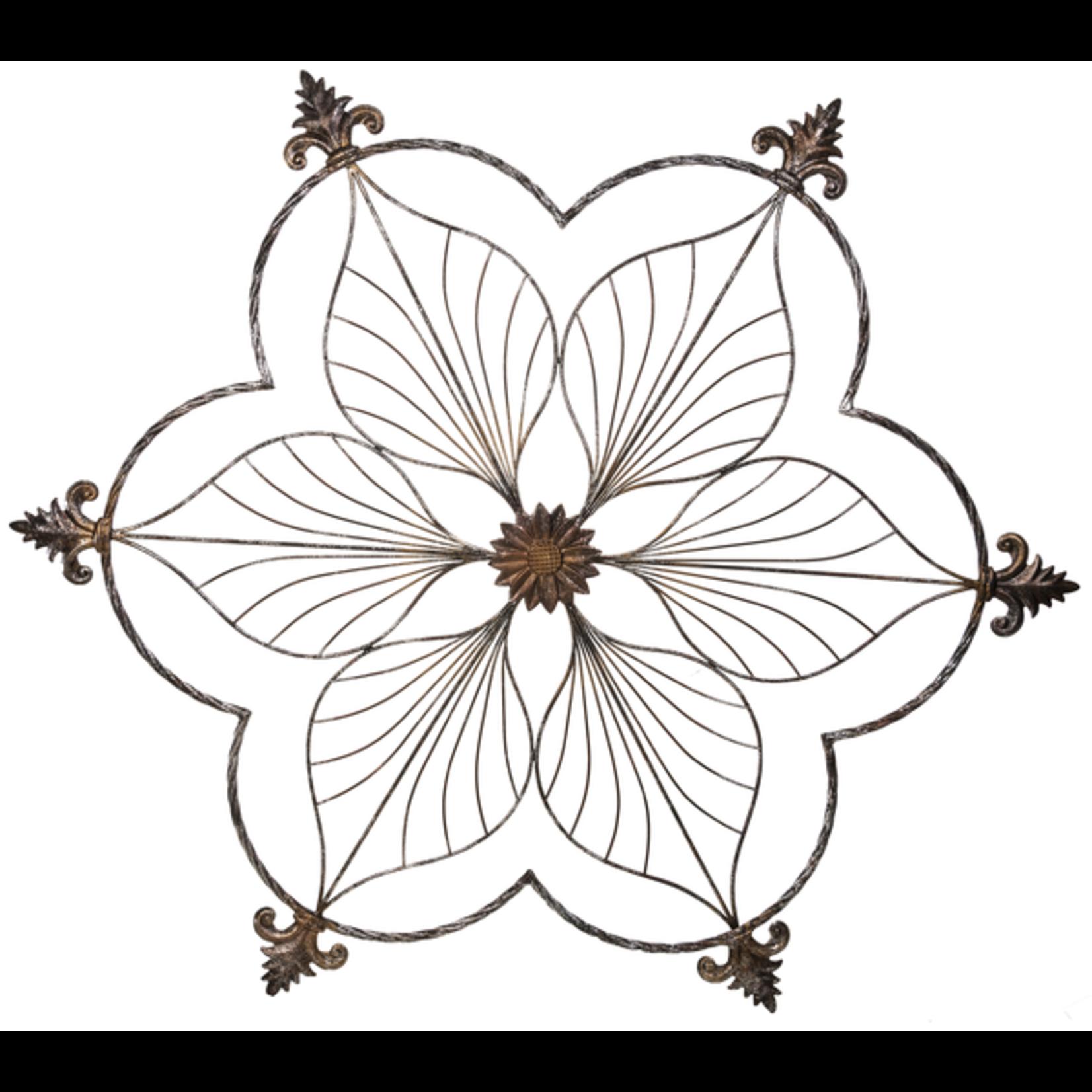 Wall Plaque Fleur de Lis
