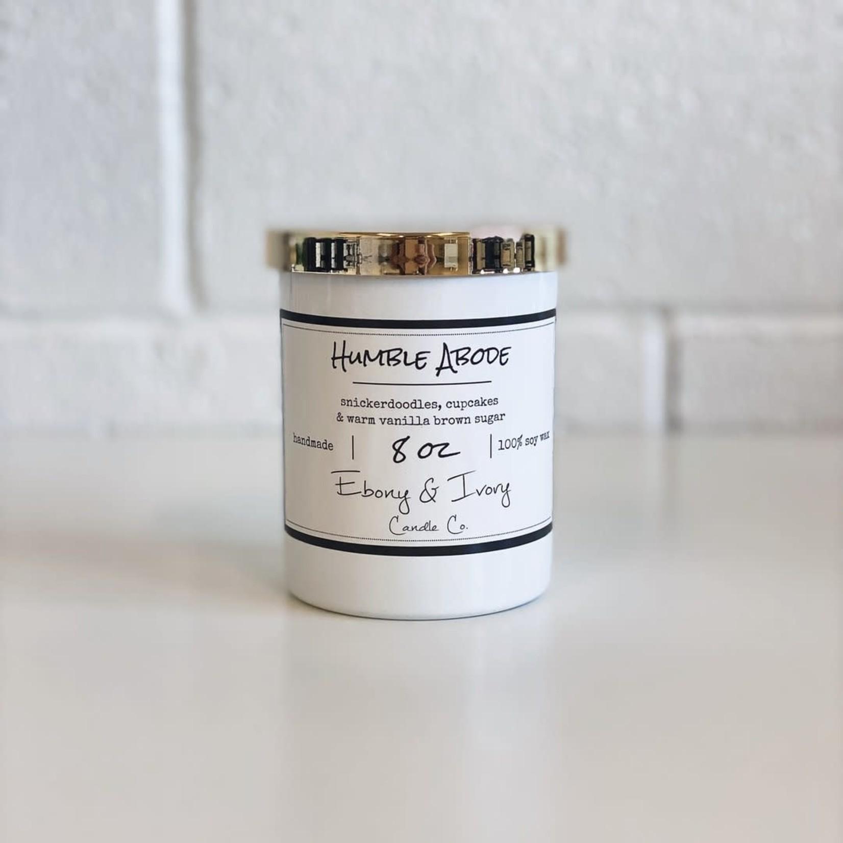 Ebony & Ivory Candle - Humble Abode